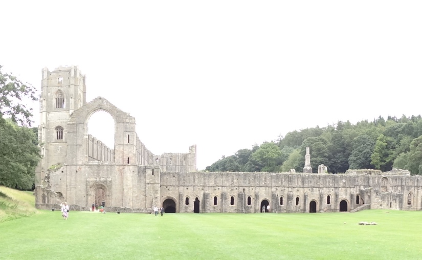 The Retirees go Abroad – Home for a Few Days then off to the Tattoo – FountainsAbbey