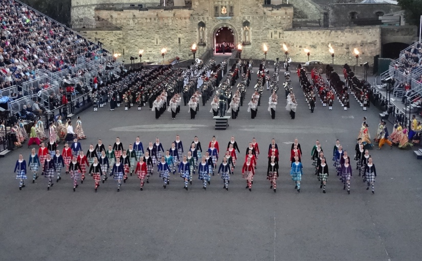 The Retirees go Abroad – Home for a Few Days then off to the Tattoo – Edinburgh'sTattoo