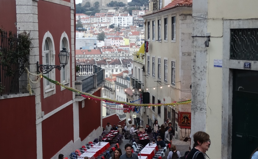 The Retirees go Abroad – the Iberian Peninsula – Food and Wine of Lisbon