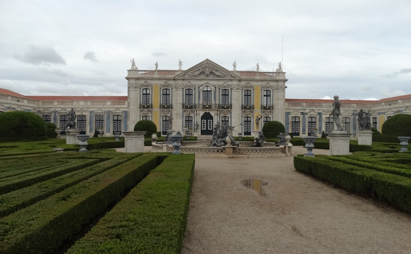 The Retirees go Abroad – the Iberian Peninsula – Queluz Belis