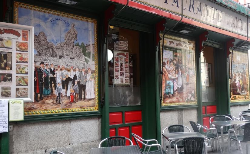 The Retirees go Abroad – the Iberian Peninsula – Madrid andTapas