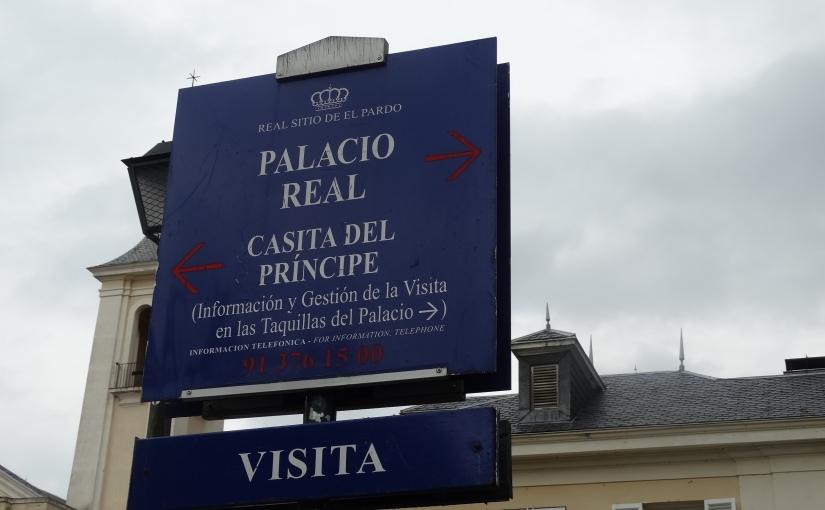 The Retirees go Abroad – the Iberian Peninsula – Madrid, and ElPardo