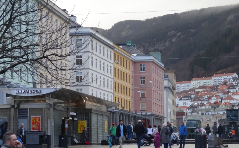 The Retirees go Abroad – France, Norway, UK and Ireland – Bergen andNorway