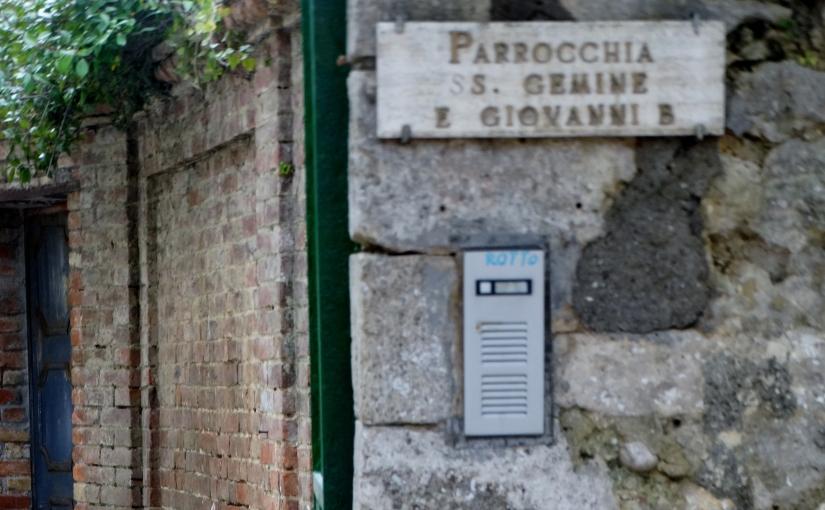 The Retirees return to Italy – Umbria – SanGemini