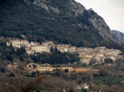 Cesi as seen from San Gemini