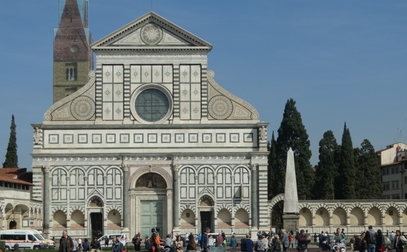 The Retirees return to Florence – Santa Maria Novella (pictured below) & Santa Maria Assunta of Badia Florentina and others