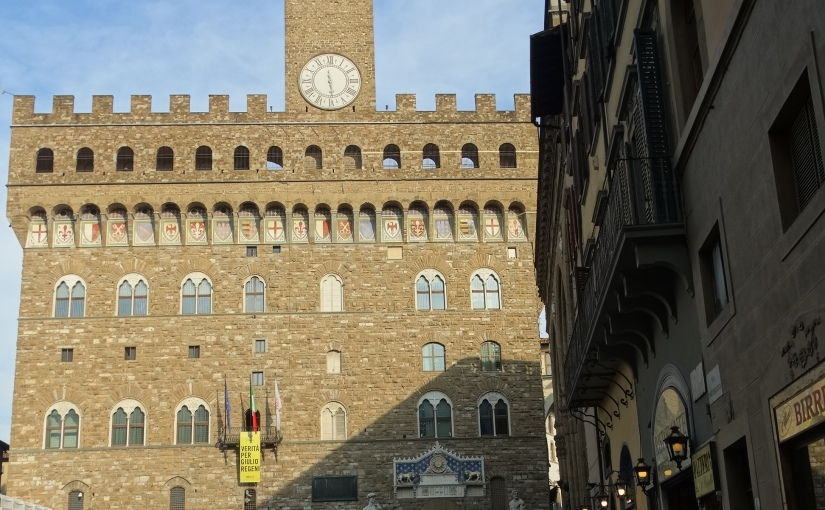 The Retirees return to Florence – a Walking tour