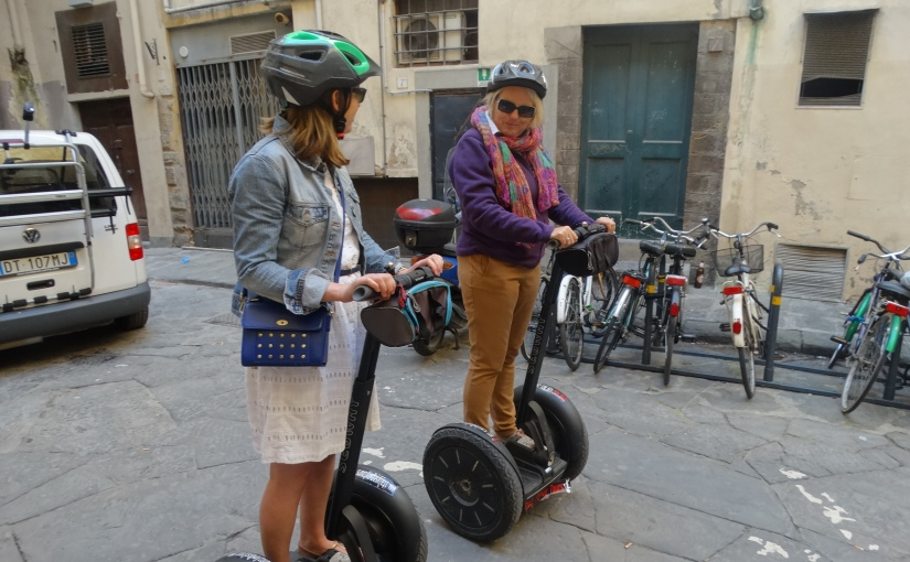 The Retirees return to Florence – a Segway tour