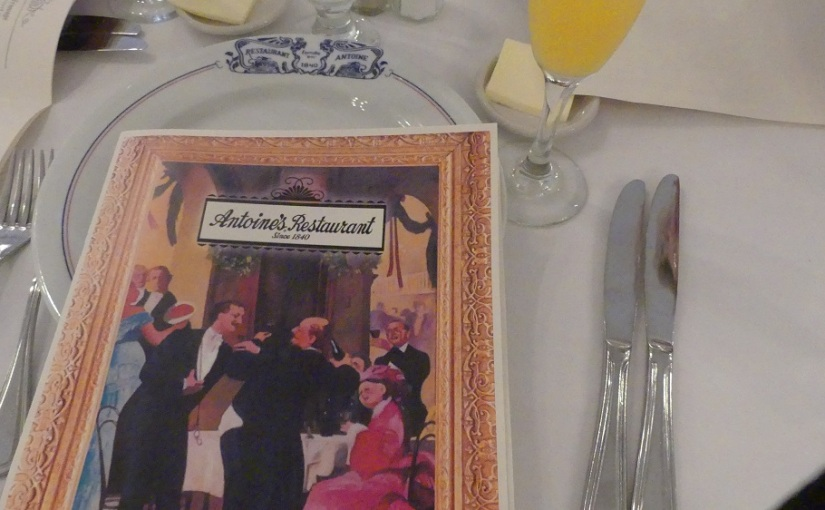 The Retirees in the South East USA – Antoines on Mother'sday