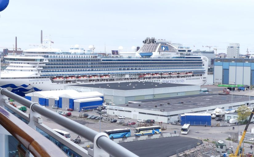 The Retirees in Helsinki – Preparing to move on – Princess Cruise around the Baltic