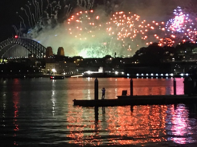 The Retirees travelling in Australia – New Year 2019 inSydney
