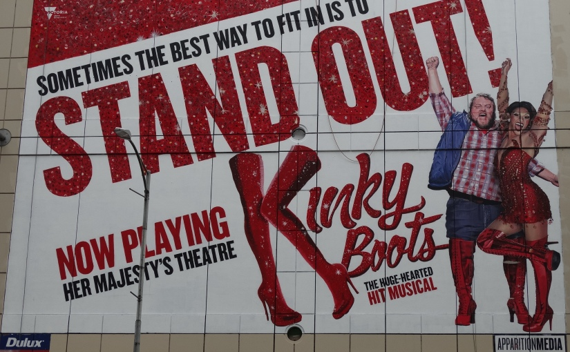 The Retirees go to Melbourne – KinkyBoots