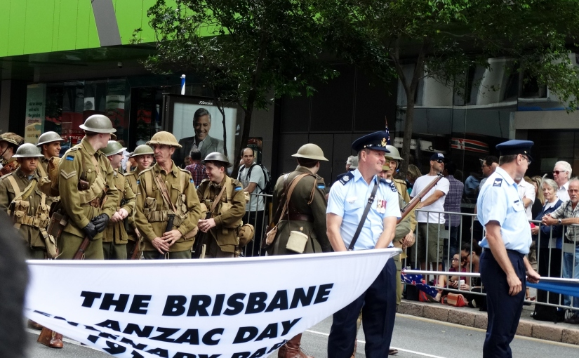 Our Fabulous Travels – 2016 ANZAC Day Parade Brisbane