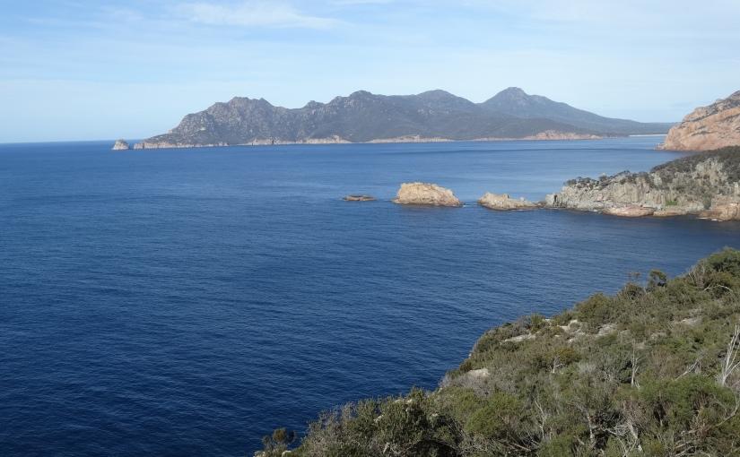 The Retirees on the Move Again – Tasmania in Ten – Swansea, Freycinet Peninsula and TourvilleLighthouse